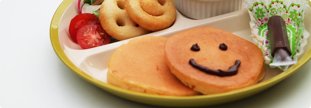 お絵かきパンケーキプレート